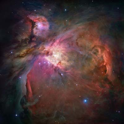 The Orion Nebula (NASA/ESA)